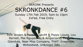 Unknown Tofu play Skronkdance #6 at ExFeb, 17th of February