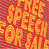 Free Speech For Sale